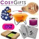 Cosygifts: Onlineshop met een uitgebreid assortiment actuele merkproducten op het gebied van lifestyle, wonen, koken, tuin, design en cadeaus.