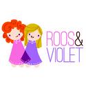 Roos & Violet: : Kleurrijke designerstoffen (in katoen of tricot) , originele knopen en andere leuke fournituren (boordband, tassenband, biais, paspel).
