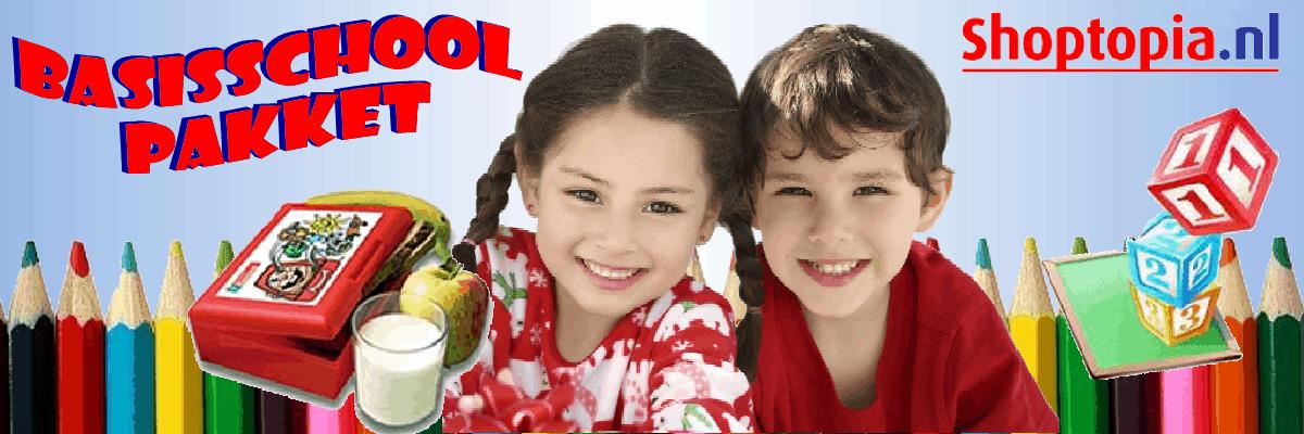 Hét cadeau voor kleuters – het Shoptopia Basisschoolpakket