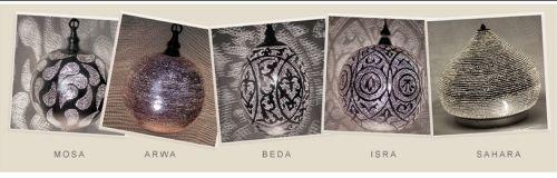 Verlichting met arabisch design voor een bijzonder oriëntaals gevoel