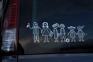 Trots op je gezin? Win 6 familiestickers naar keuze