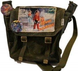 Vintage tassen met een hip tintje