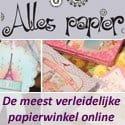 Hippe cadeautjes van papier bij Alles Papier