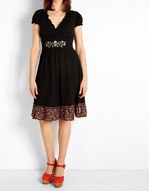 Blutsgeschwister Wildwuchs Cache Dress Deep Night
