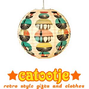 Hippe retro cadeautjes en kleding bij Catootje