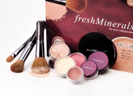Minerale Make-up | Win een FreshMinerals Starterkit twv €65