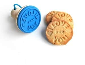 Koekjesstempel voor de leukste zelfgebakken koekjes