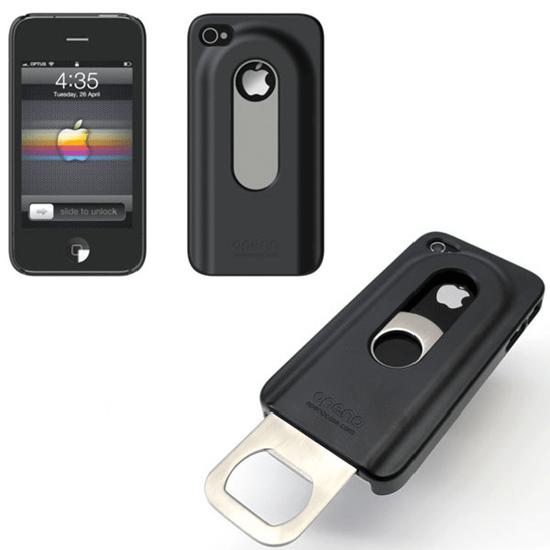 Opena, de coolste iPhone case met uitschuifbare flesopener