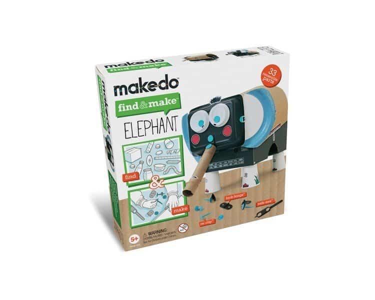 Makedo | zelf het hipste speelgoed maken met afval