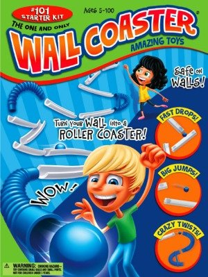 Trendyspeelgoed | Wall Coaster knikkerbaan aan de muur