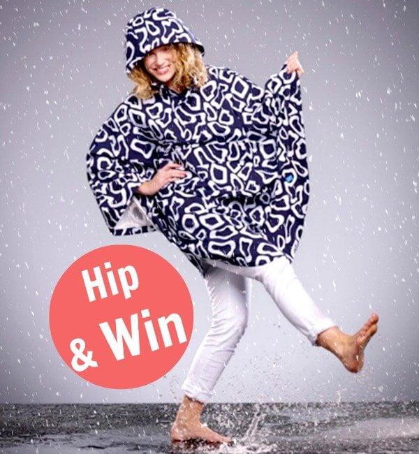 Weg met dat suffe regenpak! In een hippe regencape blijf je stylish droog!