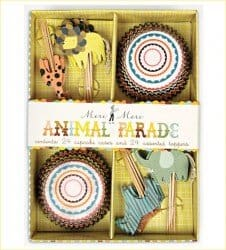 Animal parade cupcakekit