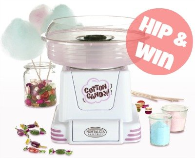 Retro-Online ♥ Win een Retro Suikerspinmachine twv €55