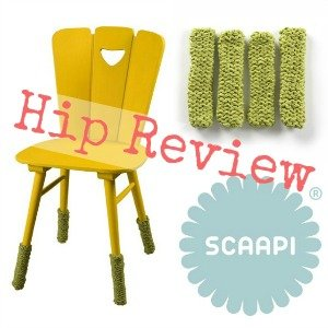 Scaapi handgebreide beenwarmers – dress up your old seats