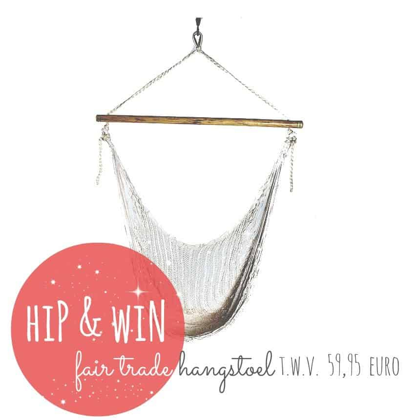 Corazon Fairtrade ♥ Win een hippe hangstoel twv €59,95