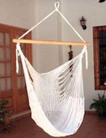 fair trade Hangmatstoel naturel