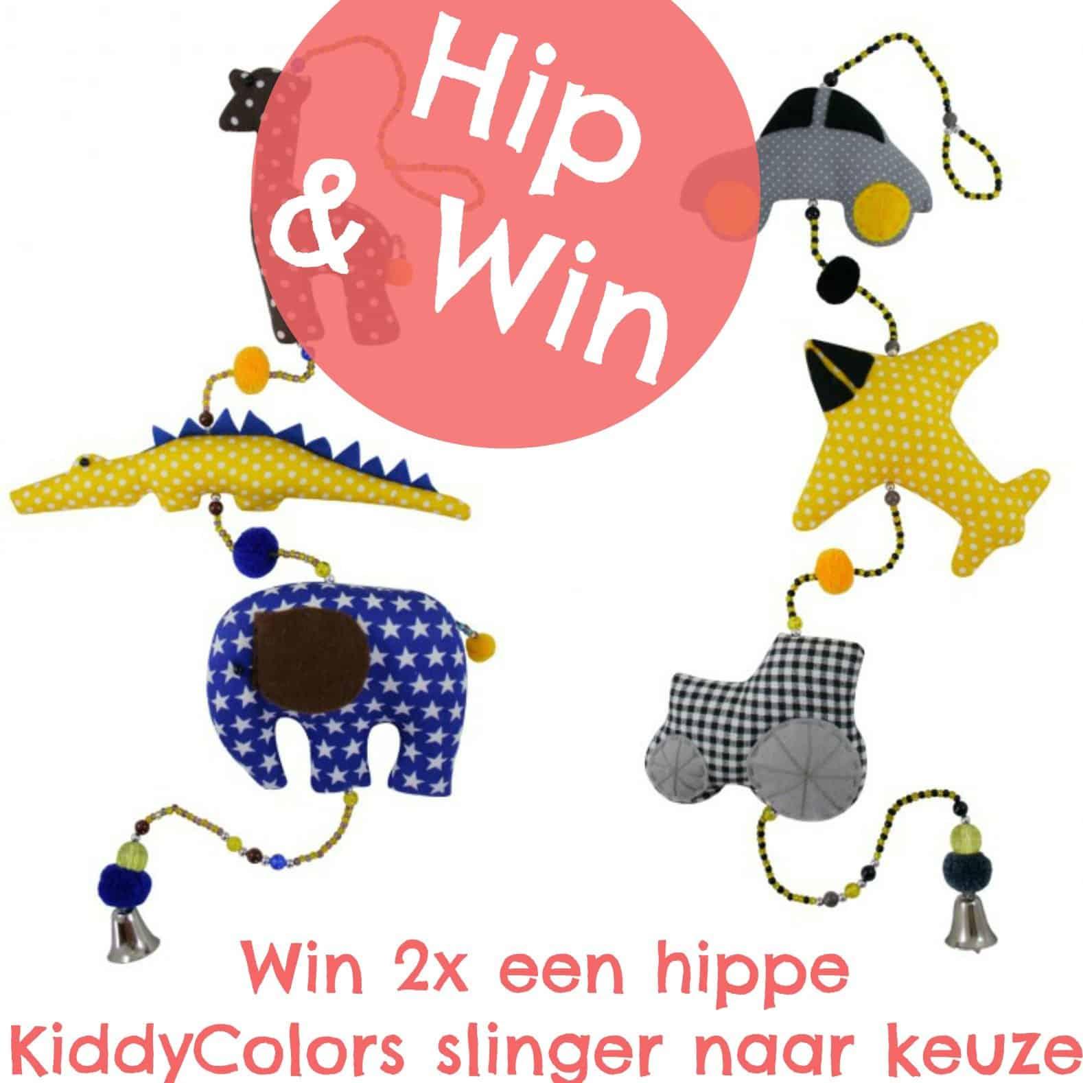 Kiddycolors verloot 2x hippe slingers voor stoere jongens