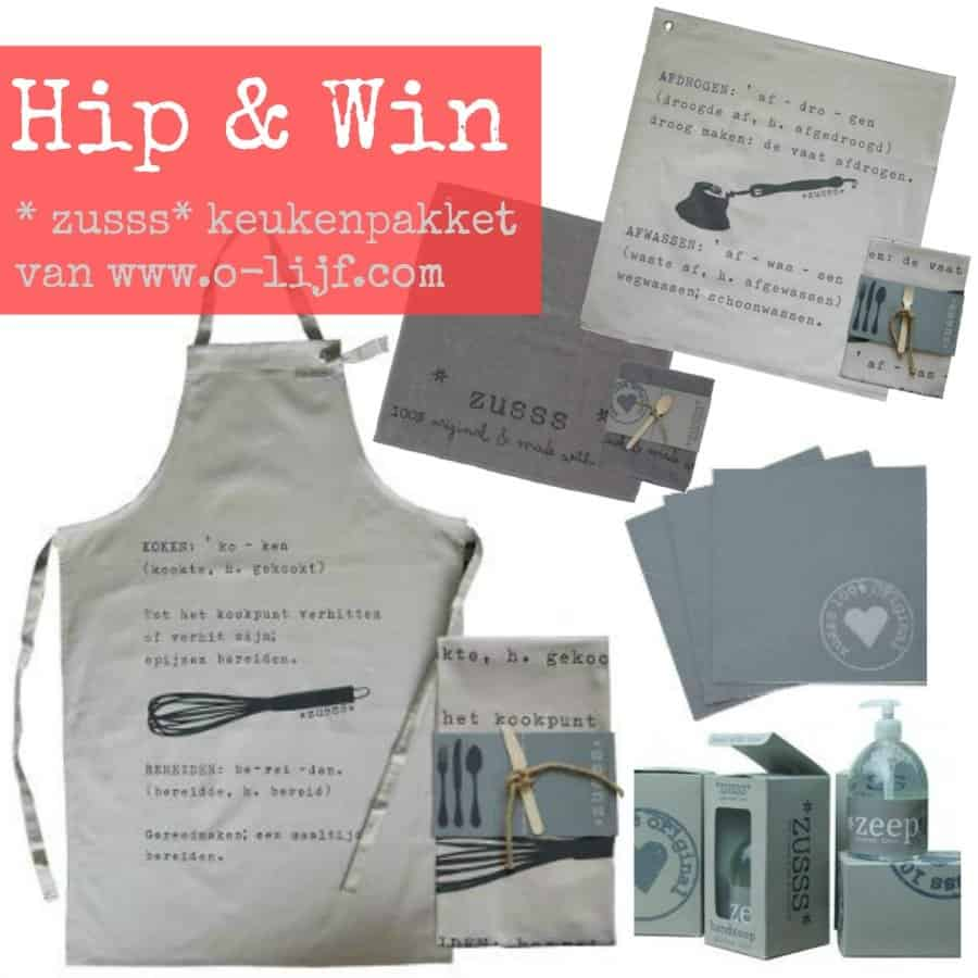 O-LIJF.com giveaway ♥ Hip keukenpakket van Zusss €63,-