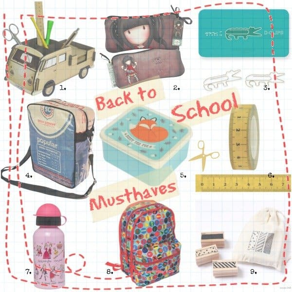 Hippe Back-to-School Musthaves 2013