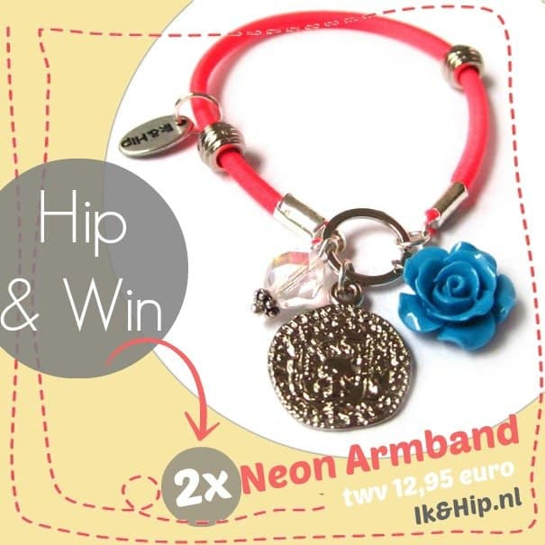 Ik&Hip GiveAway – hippe neon armband giveaway (2x)