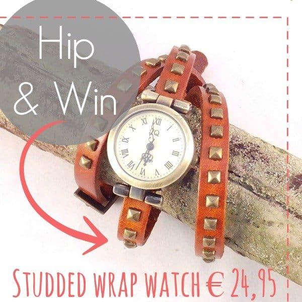 oneofeve_Horloge-wrap-cognac_hippeshops_winactie