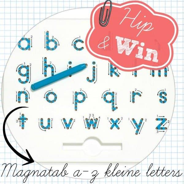 Amstelmam giveaway | Magnatab a-z kleine letters twv €31,95