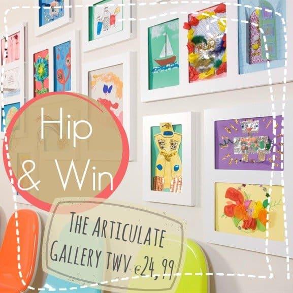 Winnen! The Articulate Gallery, van tekening tot kunstwerk