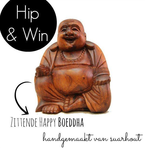 Wereldse Pracht – Handgemaakte Happy Boeddha uit Bali
