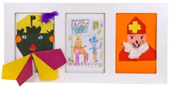 Sint & Piet tekeningen Articulate Frame
