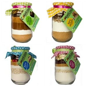Cookielicious ★ Happiness comes in a jar bijna mixen
