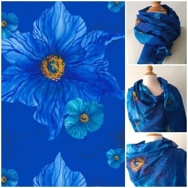 Exprezzit ★ Voile sjaals met design prints