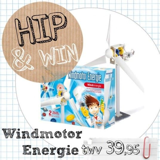 Buki Windmotor Energie van Green Energy Toys