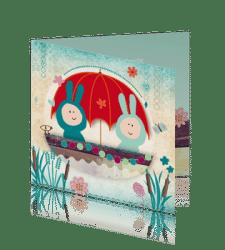 hip-geboortekaartje-tweeling-boot-konijnen-retro-lief