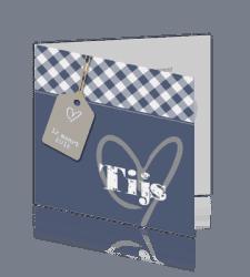 trendy-geboortekaartje-jongen-ruitje-hart
