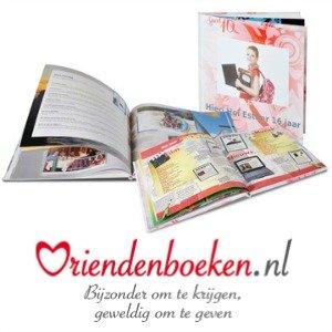 Vriendenboeken ★ Cadeaubon voor ingebonden vriendenboek