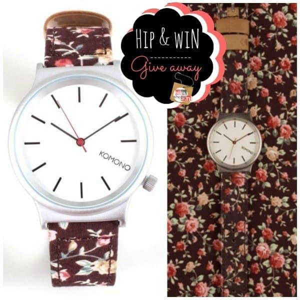 Wishful Shopping Giveaway – Komono Watch Roseberry