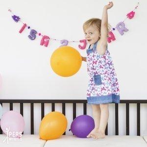 Hoera! Fairtrade verjaardagsslingers op z'n hipst bij Kiddycolors