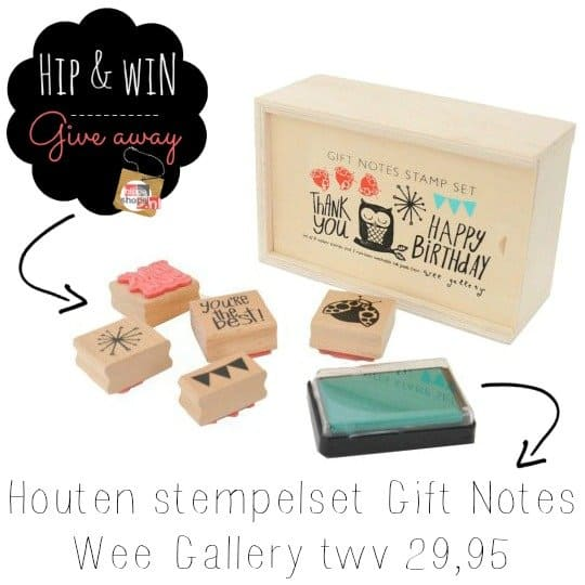Wee Gallery Stamp Set Gift Notes