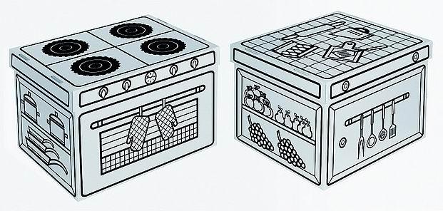 Spelen en opruimen | hippe opbergboxen van Villa Carton