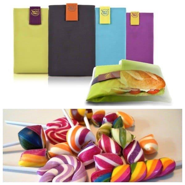 Kleurrijk en gezond snoepgoed bij De Groene Buik