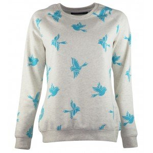 Must have hippe sweater met all-over dierenprint
