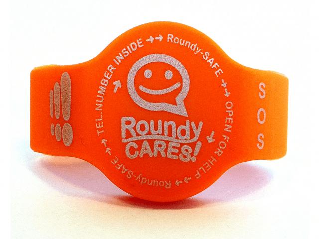 Het hippe SOS armbandje – met Roundy™ zijn ze zo weer terecht!