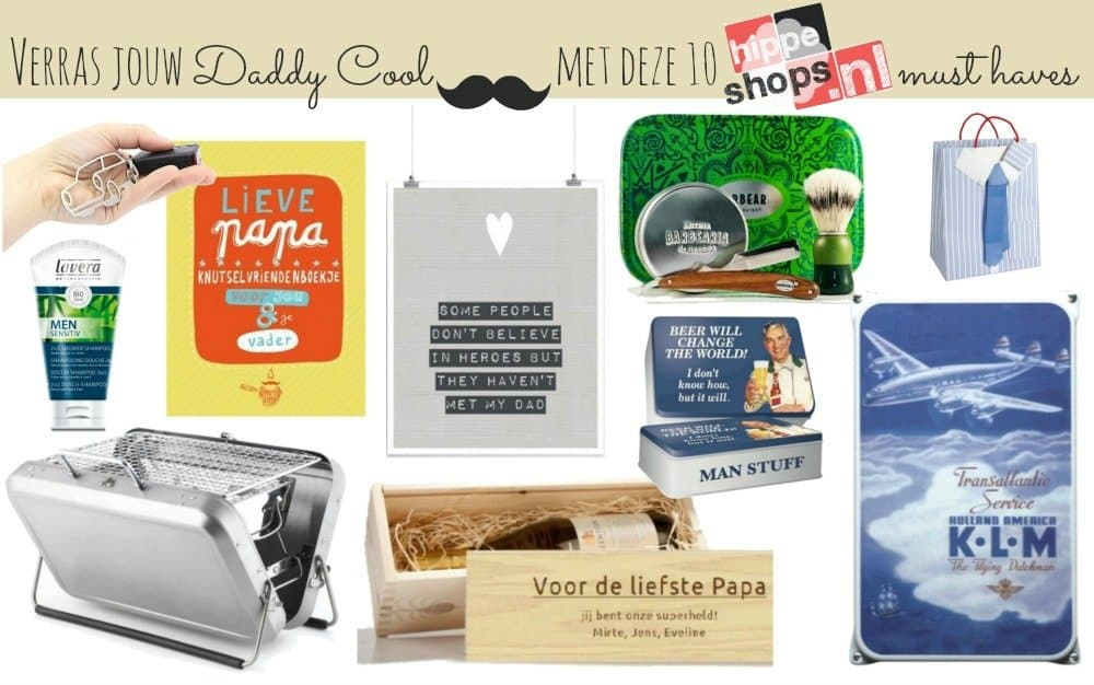 10 Daddy Cool Must Haves – Vaderdag op z'n hipst!