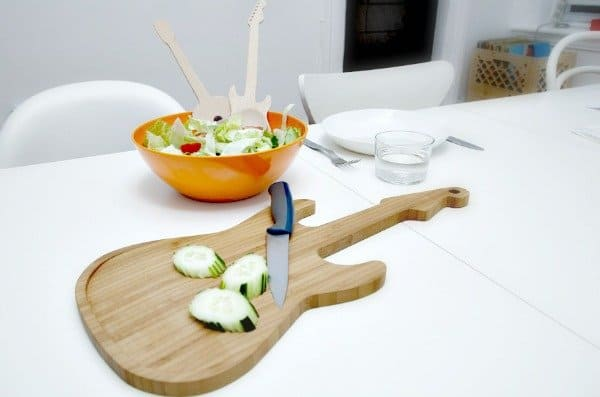 bamboe-snijplank-gitaar-