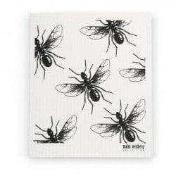 dish-cloth-flying-ants