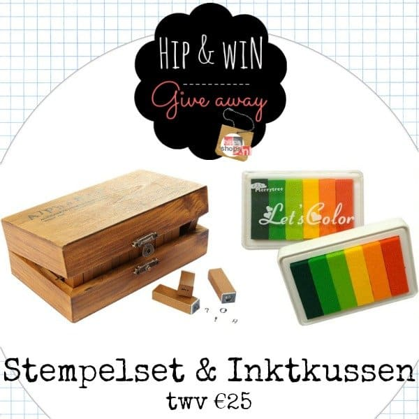 Twenty Somethin' Giveaway: nostalgische stempelset ABC