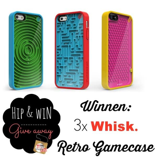 Whisk Giveaway – 3x Retro Gamecase iPhone
