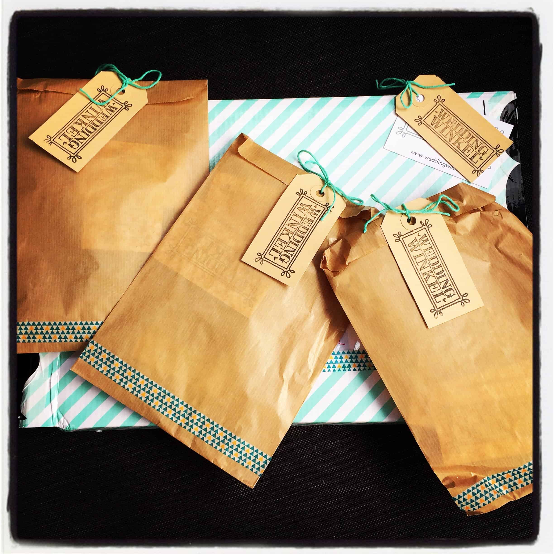 Wedding Winkel ★ Goodiebag papergoods