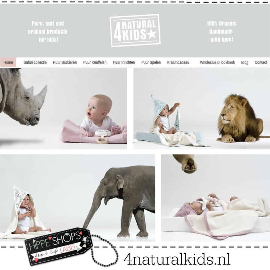 4NaturalKids – alles voor je baby van biologisch katoen