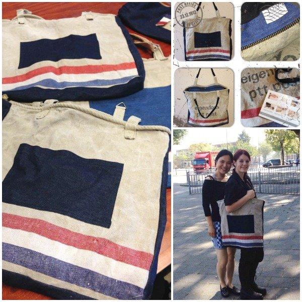 JOW Junior ★ Big Shopper van PTT Postzakken en Jeans